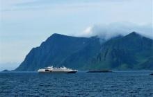 Trolltindan pass - ferry to Bodø